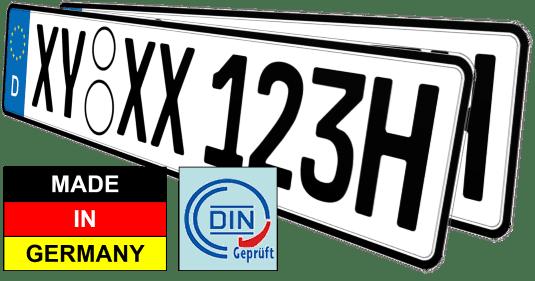 Oldtimer KFZ Nummernschilder Historisches H Kennzeichen günstig kaufen