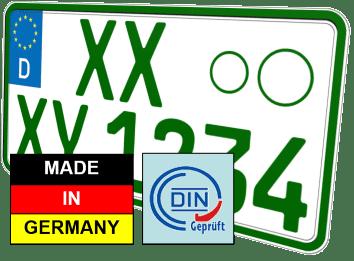 Traktor Kennzeichen nummernschild günstig